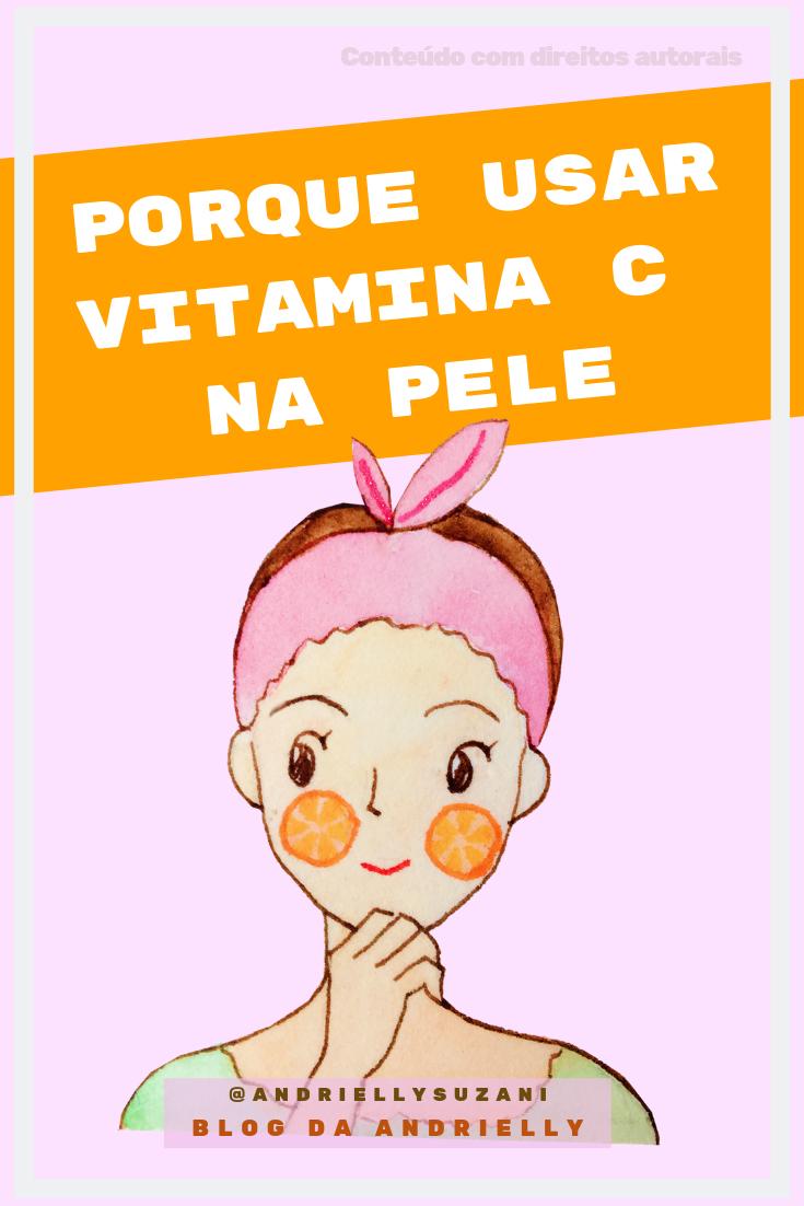 vitamina c para o rosto
