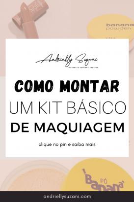 kit basico de maquiagem