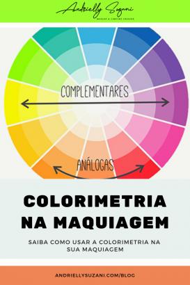 colorimetria na maquiagem