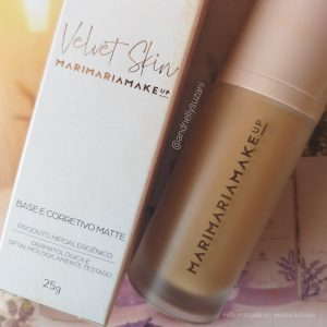 base e corretivo matte velvet skin mari maria makeup