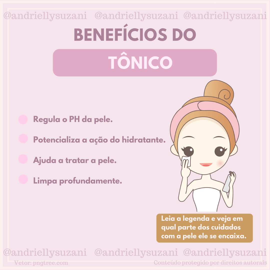 tônico facial para que serve