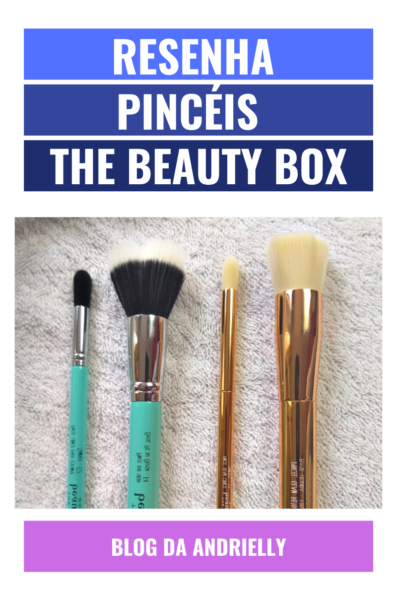 resenha pinceis the beauty box