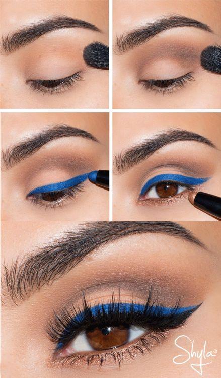 delineado azul classic blue 2020