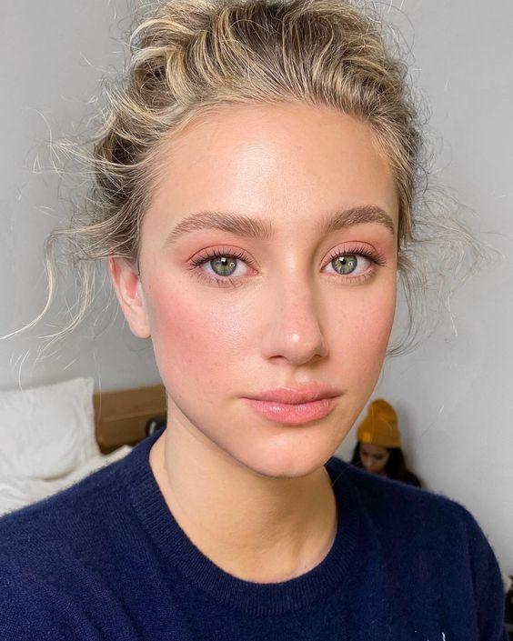 maquiagem leve e simples