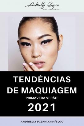 tendencias de maquiagem 2021