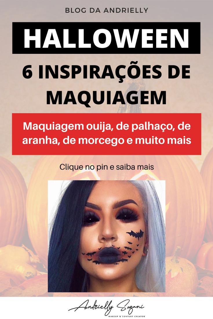 maquiagem halloween 2020