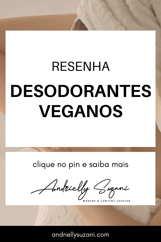 desodorantes veganos