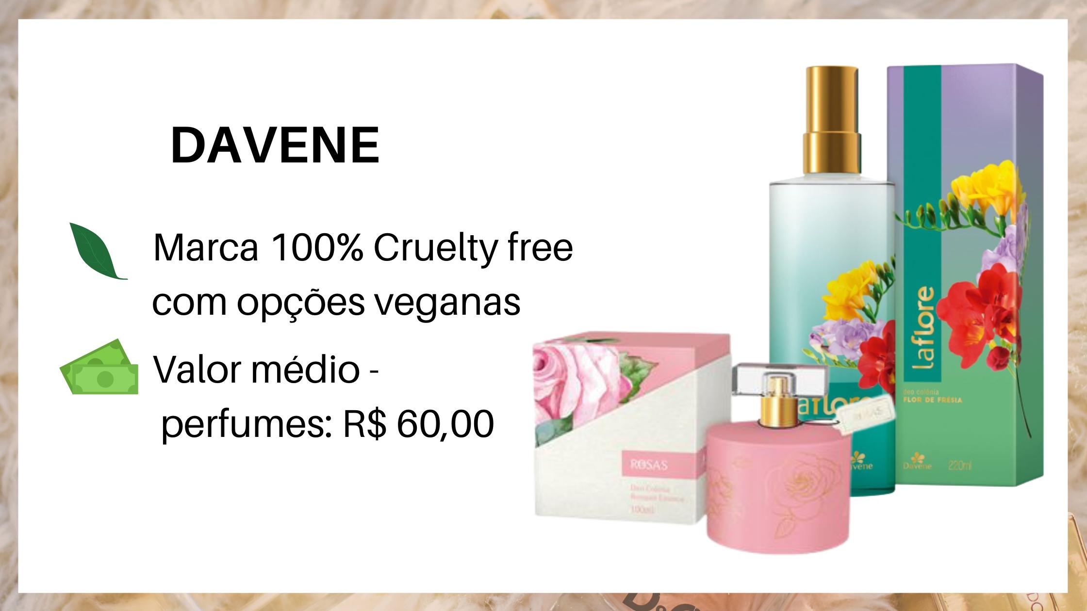 Davene Perfume Vegano
