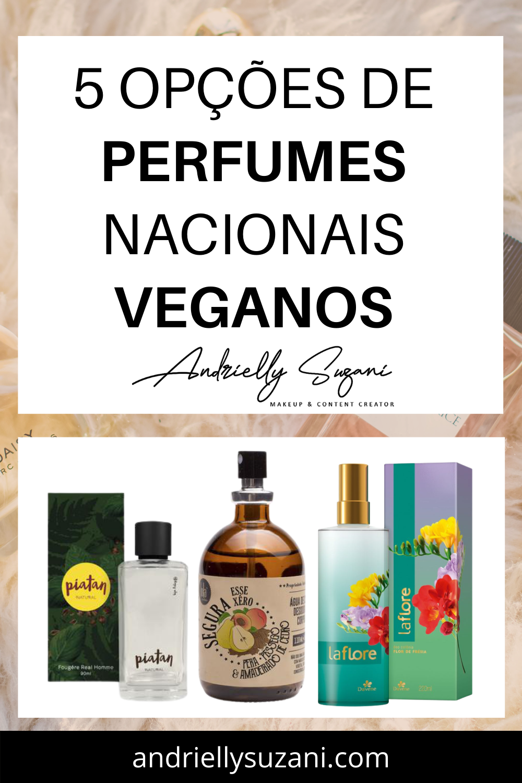 perfumes nacionais veganos