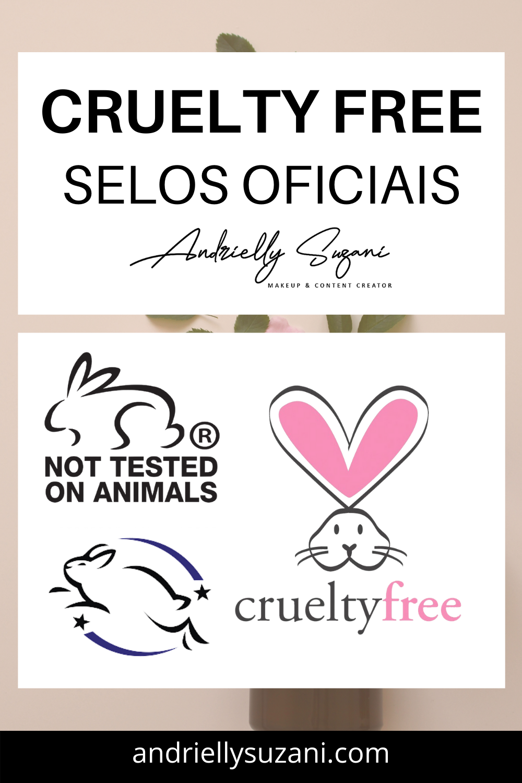 selos oficiais cruelty free